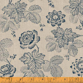 willow  52564-2 Stippled Floral Linen