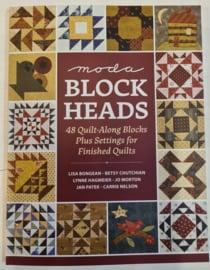 Boek:  moda blockheads