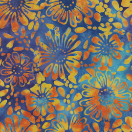 Batik 4467-99 FlowerBed bright multi