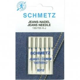 Schmetz naaimachinenaalden jeans 80/12