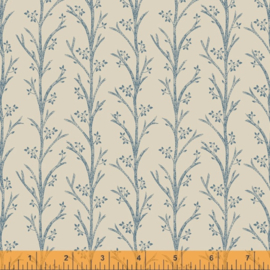 willow 52565-2  Blooming Branches Linen