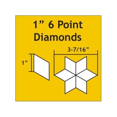 1 inch 6 point diamond 75 stuks
