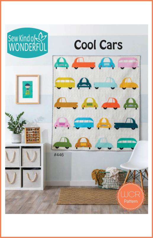 "Sew Kind of Wonderful  ""Cool Cars"" (WCR PATTERN)"