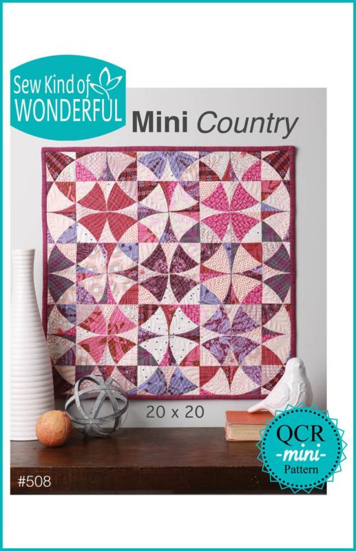 """Sew Kind of Wonderful  """"Mini Country"""" (OCR  mini PATTERN)"""