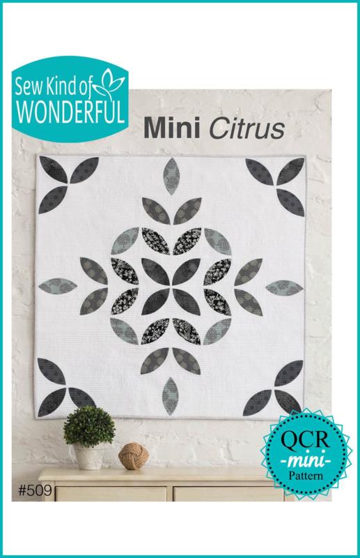 """Sew Kind of Wonderful  """"Mini Citrus"""" (OCR  mini PATTERN)"""