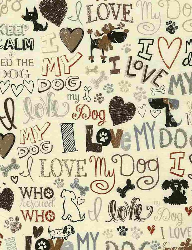 C5710 i love my dog