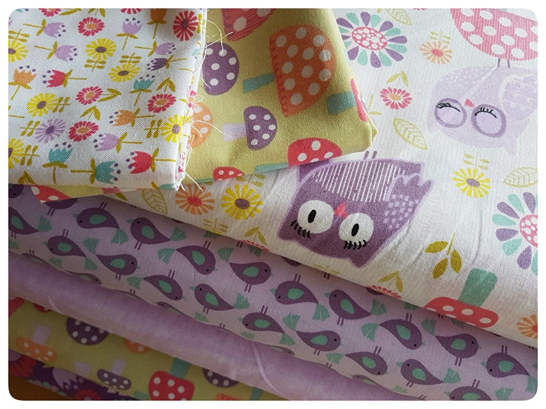 AnneLiefs, Pippit Moesby, 3 Wishes fabrics, stof, patchwork, quilten, lila, lavendel,