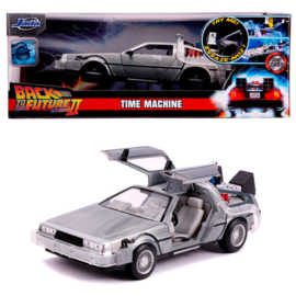 Back to The Future DLorean Time Machine metal car - Scale 1:24