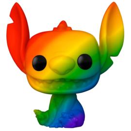 FUNKO POP figure Disney Pride Stitch Rainbow (1045)