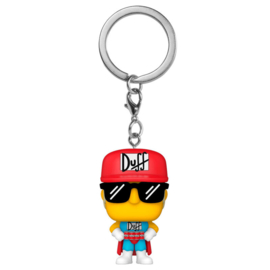 FUNKO Pocket POP keychain Simpsons Duffman