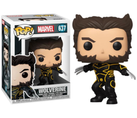 FUNKO POP figure Marvel X-Men 20th Wolverine In Jacket (637)