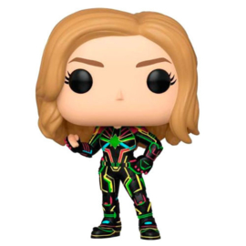 FUNKO POP figure Marvel Captain Marvel with Neon Suit (516)