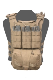 Warrior Elite Ops MOLLE  Assaulters Back Panel (COYOTE TAN)