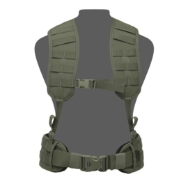 Warrior Elite Ops MOLLE Load Bearing Harness with Rear Panel (3 COLORS)