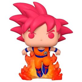 FUNKO POP figure Dragon Ball Super - Super Saiyan God Goku - Exclusive (827)