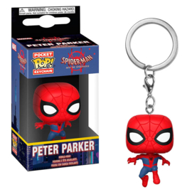 FUNKO Pocket POP keychain Marvel Animated Spiderman Peter Parker