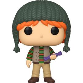 FUNKO POP figure Harry Potter Holiday Ron Weasley (124)