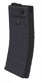 TIPPMANN M4 Co2 Mid-Cap Magazine - 80Rnd (BLACK)