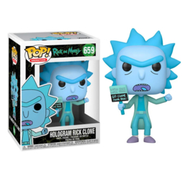 FUNKO POP figure Rick & Morty Hologram Rick Clone (659)