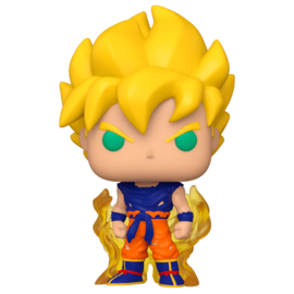 FUNKO POP figure Dragon Ball Z S8 Super Saiyan Goku First Appearance (860)