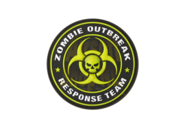 JTG Zombie Outbreak Rubber Patch - Green