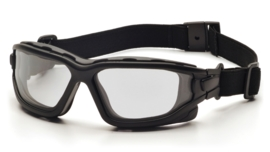 PYRAMEX I-Force Slim Goggle Dual Anti-Fog Lens (Class 3) - CLEAR
