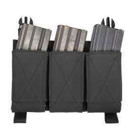 Warrior Elite Ops MOLLE Removable Triple Elastic Mag Pouch for RPC & LPC  (4 COLORS)