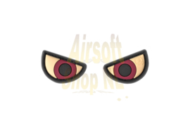 JTG Angry Eyes Rubber Patch