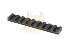BIG DRAGON Keymod Rail Section - 9.5cm (BLACK)