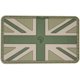 VIPER RUBBER UNION JACK PATCH (VCAM)