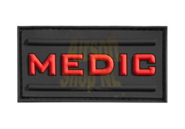JTG Medic Rubber Patch (BLACK)