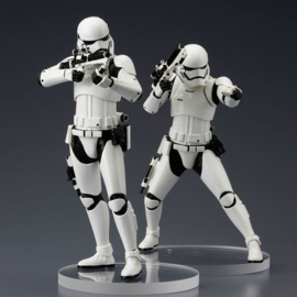 Star Wars ArtFX+ Statue 2-Pack First Order Stormtrooper 18cm, Scale 1:10