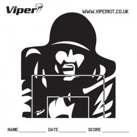 VIPER Pro Target (thin) Paper Targets (100Pcs)