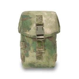 Warrior Elite Ops MOLLE Medium General Utility Pouch ITW Clip (A-TACS FG)
