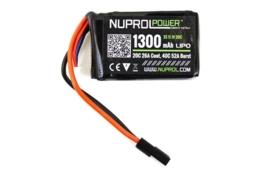 NUPROL Power 1300mah 11.1v Lipo 20c PEQ Micro