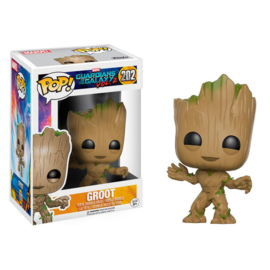 FUNKO POP figure Guardians of the Galaxy 2 Groot (202)