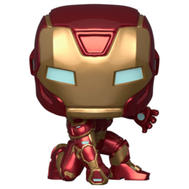 FUNKO POP figure Marvel Avengers Game Iron Man Stark Tech Suit (626)