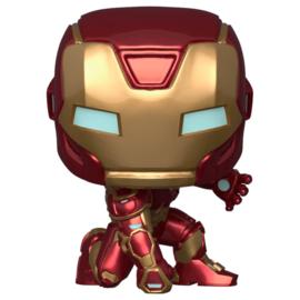 FUNKO POP figure Marvel Avengers Game Iron Man Stark Tech Suit (626)