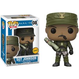 FUNKO POP! figure Halo Sgt. Johnson - Chase (08)