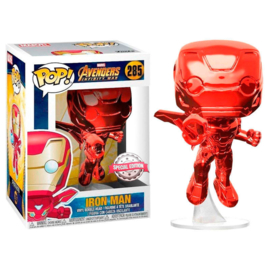 FUNKO POP figure Marvel Avengers Infinity War Iron Man Red - Exclusive (285)