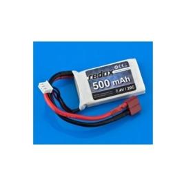 REDOX 7.4V LiPo Battery 500 mAh - 20C