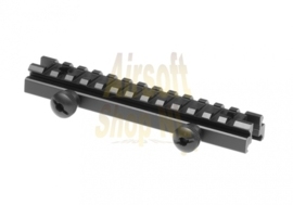 "LEAPERS UTG 0.5"" High 13-slot Low-profile Full Size Riser Mount (LOW)"