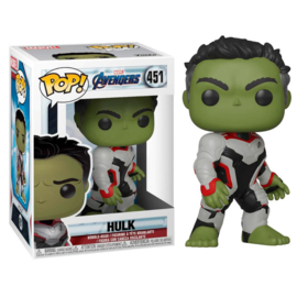 FUNKO POP figure Marvel Avengers Endgame Hulk (451)