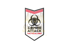 JTG Zombie Attack Rubber Patch - White