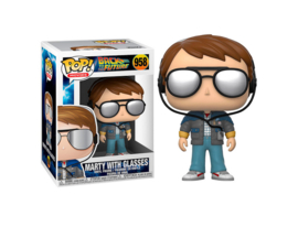 FUNKO POP figure Back To The Future Doc Marty with Glasses (958)