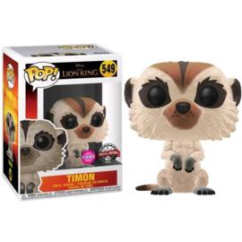FUNKO POP figure Disney The Lion King Timon - Flocked Exclusive (549)