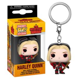 FUNKO Pocket POP Keychain DC The Suicide Squad Harley Quinn Bodysuit