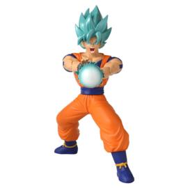 Dragon Ball Super - Super Saiyan Blue Goku figure - 17cm