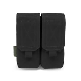 Warrior Elite Ops MOLLE Double M4 - 5.56mm Mag Pouch / Non Slip Retention (BLACK)