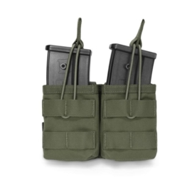 Warrior Elite Ops MOLLE Double Open G36 Mag / Bungee Retention (OLIVE DRAB)